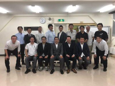 交流委員会事業 専務理事との意見交換・6月役員会を開催